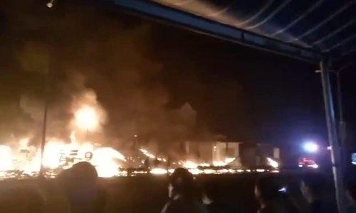 Six dead, 16 houses burned in tanker truck blaze in southern Vietnam