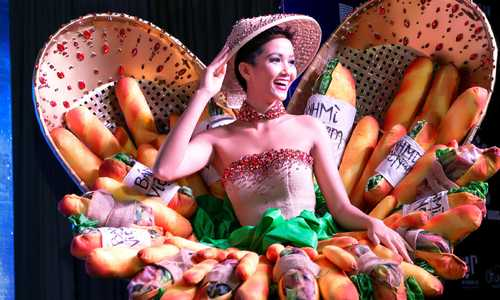 Vietnam beauty queen will dress in banh mi for national costume at new contest