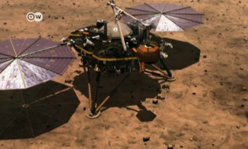 'Insight' lands on Red Planet