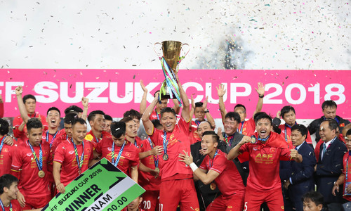 Vietnam brings home AFF Cup championship title