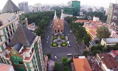 Restoration of Saigon Notre Dame Cathedral takes a step back until 2023