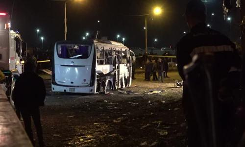 Bomb kills three Vietnamese tourists, Egyptian guide near pyramids