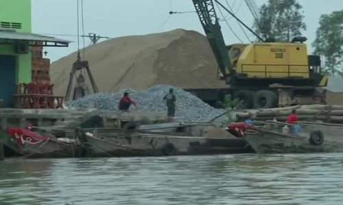 Sand mining threatens a way of life in Vietnam