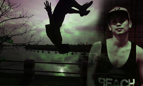 Vietnamese man's sacrifices to chase parkour dream
