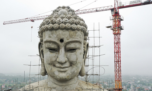 The Buddha looms large in northern Vietnam