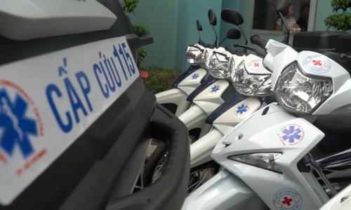Saigon hospitals expand motorbike emergency response teams