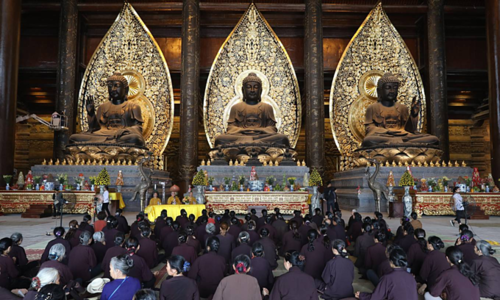 Sneak peak at venue for UN Buddha Day commemoration