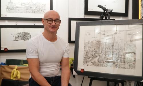 Saigon skyscraper drawings a historical record