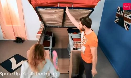 Chiếc giường khiến ai cũng ngạc nhiên khi xem dưới gầm
