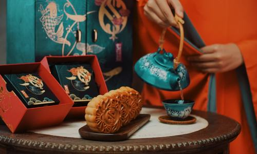 Bánh nướng, bánh dẻo nhân hoa quả dịp Trung thu
