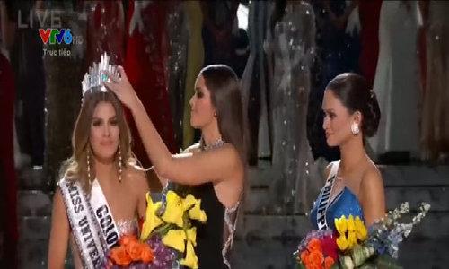 Hoa hau Hoan vu 2015 duoc gan sao tren dai lo danh vong Philippines