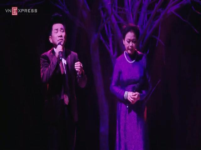 """Khánh Ly – Quang Thành hát """"Tình quê hương"""""""