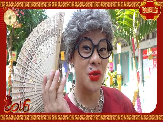 Dàn diễn viên phim 'Lộc Phát' chúc Tết khán giả