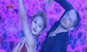 Khả Ngân nhảy dancesport