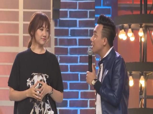 Trấn Thành bối rối khi bị Hari Won giận dỗi