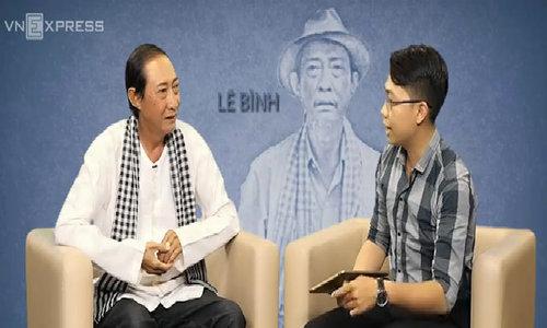 Diễn viên Lê Bình: 'Nỗi buồn nhất là phải chia tay vợ sau 37 năm chung sống'