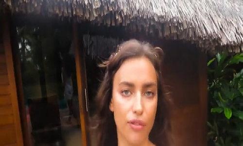 Irina Shayk khoa than co vu doi tuyen Nga