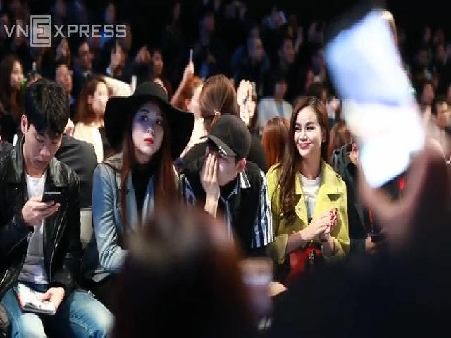 Sella Trương ngồi hàng ghế đầu Seoul Fashion Week