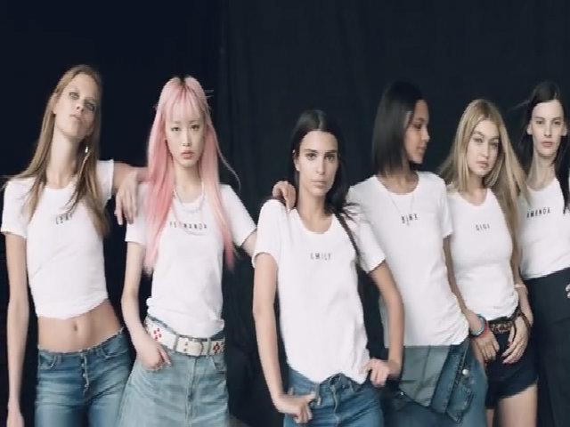 6 người mẫu khoe chân dài với loạt quần jeans