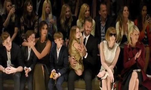 Gia đình hạnh phúc của Victoria Beckham