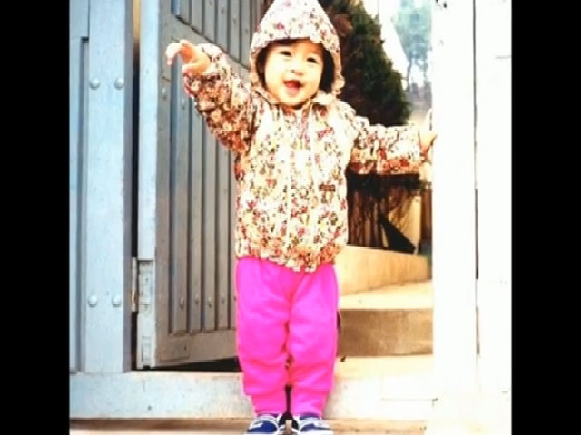 Kim Tae Hee hồi nhỏ