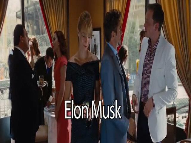Elon Musk trong phim 'Iron Man 2'