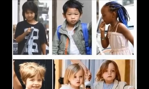 Angelina Jolie tim dai hoc o Han Quoc cho con trai