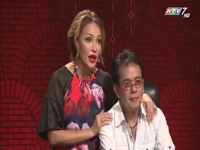 Thanh Hà ôm Đức Huy hát 'Anh cứ đi đi'