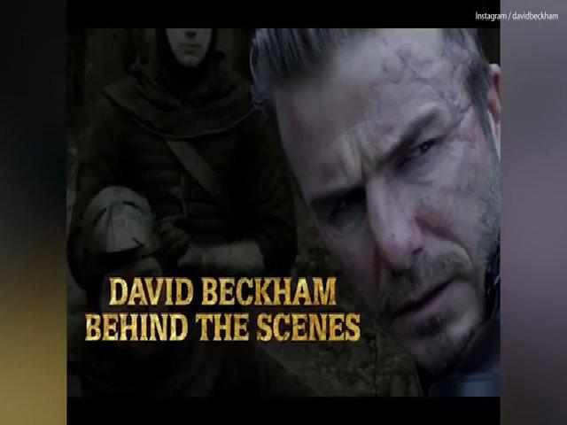 Hậu trường vai diễn của David Beckham