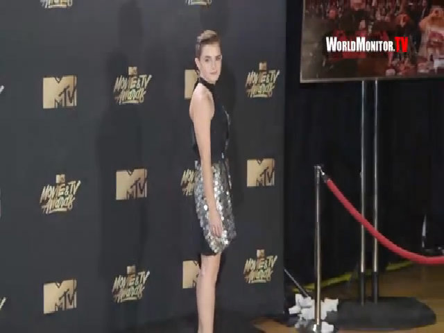 Emma Watson ở lễ trao giải MTV 2017