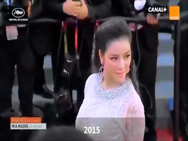 Lý Nhã Kỳ qua các mùa liên hoan phim Cannes