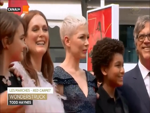 Michelle Williams và Julianne Moore ở Cannes 2017