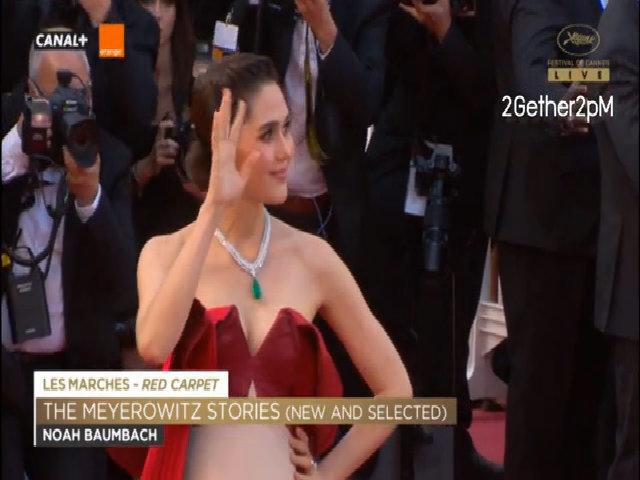 Araya Hargate ở Cannes 2017