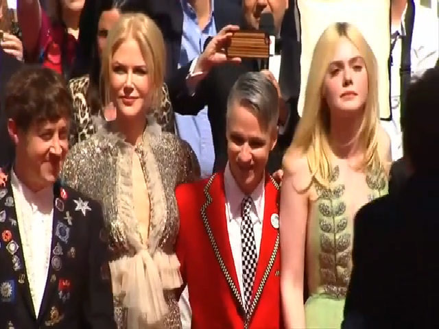 Nicole Kidman và Elle Fanning ở Cannes 2017