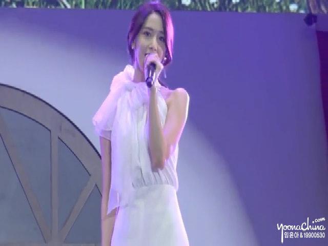 Yoona hát 'Ánh trăng nói hộ lòng tôi' tại Trung Quốc