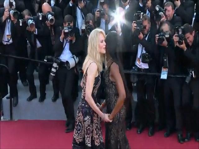Nicole Kidman và Naomi Campbell ở Cannes 2017