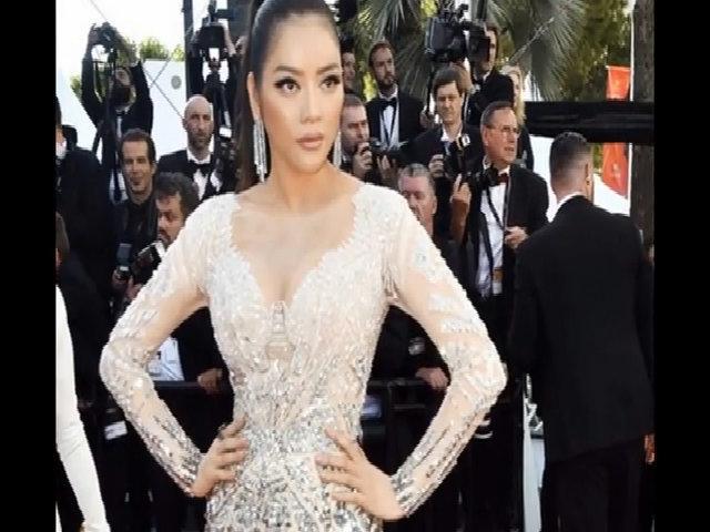Thời trang của Lý Nhã Kỳ ở Cannes 2017