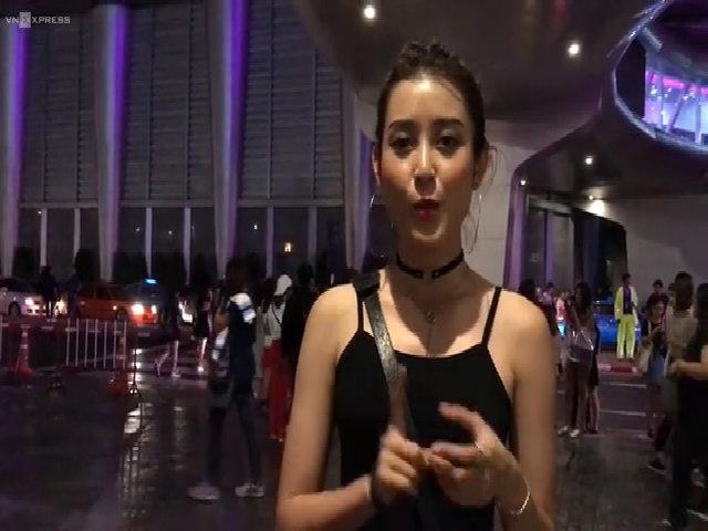 Huyền My ở show G-Dragon