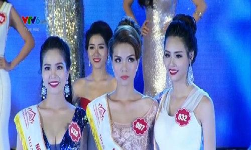 Khoảnh khắc đăng quang Hoa hậu Biển 2016 của Thùy Trang