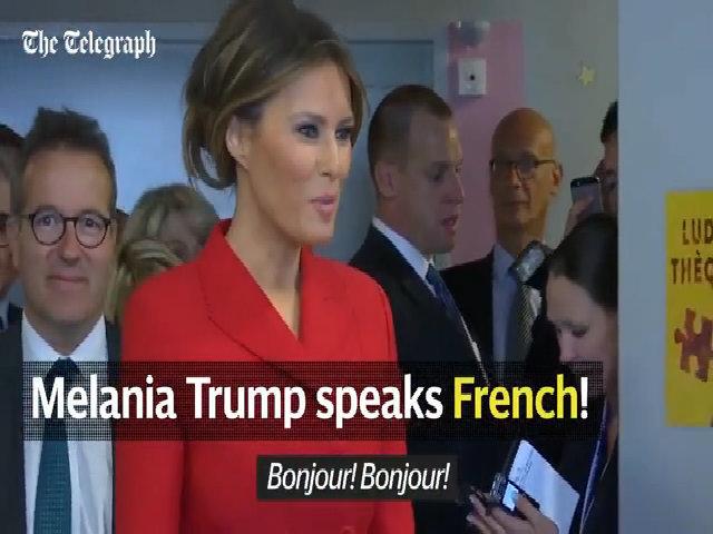 Melania Trump diện đồ D&G