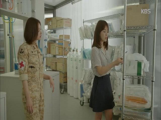 Kim Ji Won trong phim 'Hậu duệ mặt trời'