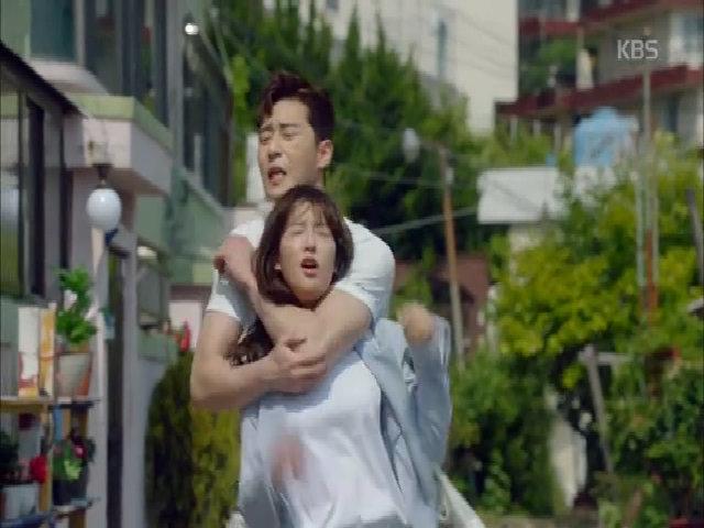 Kim Ji Won trong phim 'Thanh xuân vật vã'