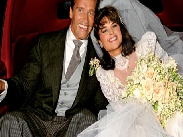 Khoảnh khắc hạnh phúc của Arnold Schwarzenegger và Maria Shriver