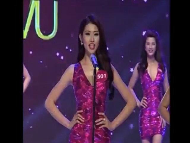 Chế Nguyễn Quỳnh Châu thi Hoa hậu Hoàn vũ Việt Nam 2015