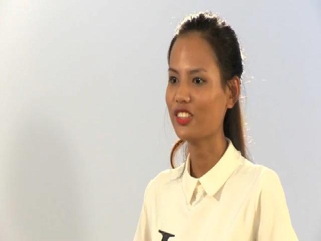 Tiêu Ngọc Linh đi thi Next Top Model