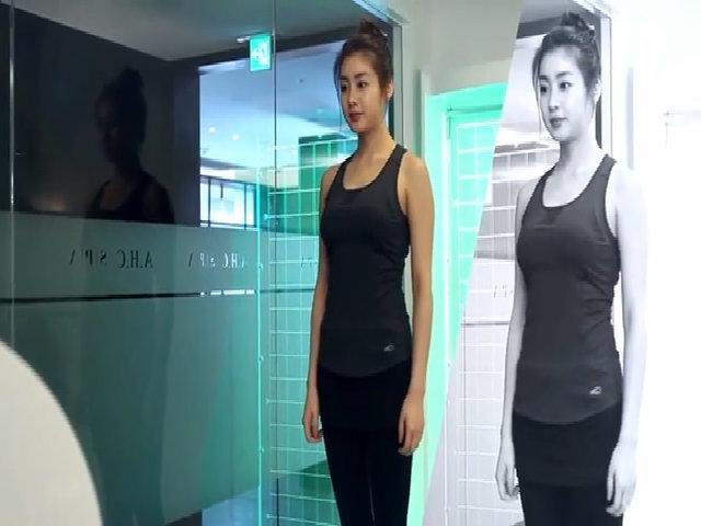 Kang So Ra phải vất vả giảm cân, giữ dáng.