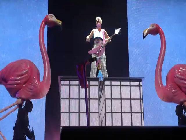 Katy Perry hát Hot N Cold