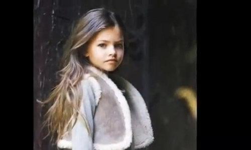 Thylane Blondeau hồi nhỏ