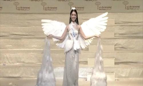 Thùy Dung trượt top 15 Miss International