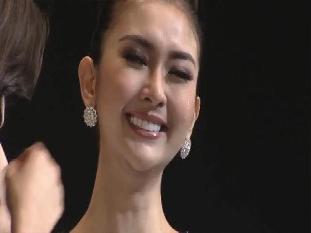 Khoảnh khắc đăng quang tại Hoa hậu Quốc tế